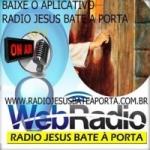 Logo da emissora Rádio Jesus Bate à Porta