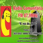 Logo da emissora Rádio 87.9 FM A Voz do Povo