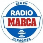 Logo da emissora Radio Marca Zaragoza 87.6 FM