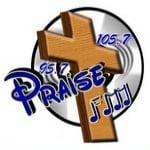 Logo da emissora Radio Praise 105.7 FM
