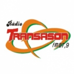 Logo da emissora Rádio Transasom 87.9 FM