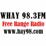 Logo da emissora Radio WHAY 98.3 FM