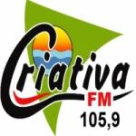Logo da emissora Rádio Criativa 105.9 FM