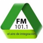 Logo da emissora Radio El Aire de  Integracion 101.1 FM