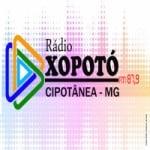 Logo da emissora Rádio Xopotó 87.9 FM