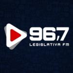 Logo da emissora Rádio Legislativa 96.7 FM
