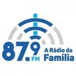 Logo da emissora Rádio da Família 87.9 FM