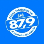 Logo da emissora Rádio Jaguaribe 87.9 FM