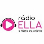 Logo da emissora Rádio Ella