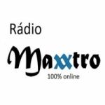 Logo da emissora Rádio Maxxtro