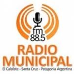 Logo da emissora Radio Municipal 88.5 FM
