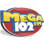 Logo da emissora Rádio Mega 102.3 FM