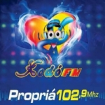 Logo da emissora Rádio Xodó 102.9 FM
