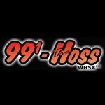 Logo da emissora Radio WHSX 99.1 The Hoss FM