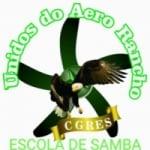 Logo da emissora Rádio Escola de Samba Unidos do Aero Rancho