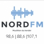 Logo da emissora Radio Nord 98.6 FM