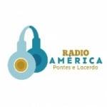 Logo da emissora Rádio America Pontes e Lacerda