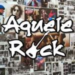 Logo da emissora Aquele Rock