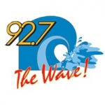 Logo da emissora Radio WHVE 92.7 The Wave FM