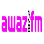 Logo da emissora Radio Awaz 107.2 FM