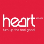 Logo da emissora Heart West Scotland 100 FM