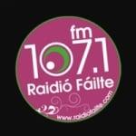 Logo da emissora Raidio Failte 107.1 FM