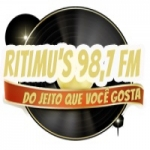 Logo da emissora Rádio Ritimus 98.7 FM