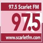 Logo da emissora Scarlet FM 97.5