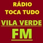 Logo da emissora Rádio Toca Tudo Vila Verde FM