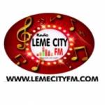 Logo da emissora Leme City FM