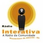 Logo da emissora Rádio Interativa Maxi