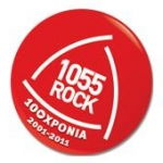 Logo da emissora Radio 105.5 Rock FM