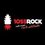 Logo da emissora Radio 1055 Rock 105.5 FM
