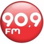 Logo da emissora Rádio Liderança 90.9 FM
