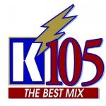 Logo da emissora Radio WKHG K105 104.9 FM
