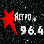 Logo da emissora Radio Astro 96.4 FM