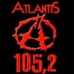 Logo da emissora Radio Atlantis 105.2 FM