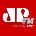 Logo da emissora Rádio Jovem Pan Arapoti 103.1 FM