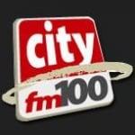 Logo da emissora Radio City 100 FM