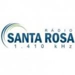 Logo da emissora Rádio Santa Rosa 1410 AM