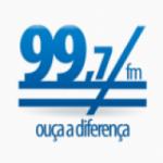 Logo da emissora Rádio 99.7 FM