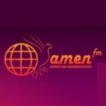 Logo da emissora Radio Amen FM