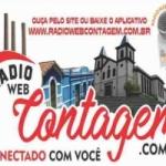 Logo da emissora Rádio Web Contagem