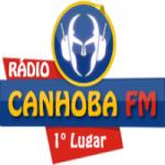 Logo da emissora Rádio Canhoba FM