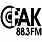 Logo da emissora Radio CFAK 88.3 FM