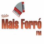 Logo da emissora Rádio Mais Forró FM