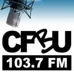 Logo da emissora Radio CFBU 107.3 FM