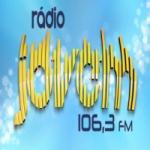 Logo da emissora Rádio Jovem 106.3 FM