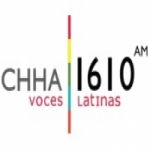Logo da emissora Radio CHHA 1610 AM