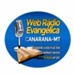 Logo da emissora Web Rádio Evangélica Canarana